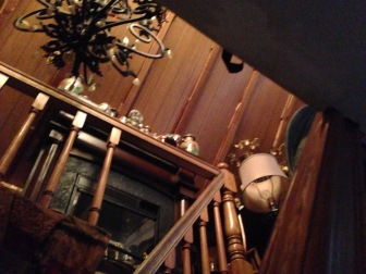 stairs to the attic